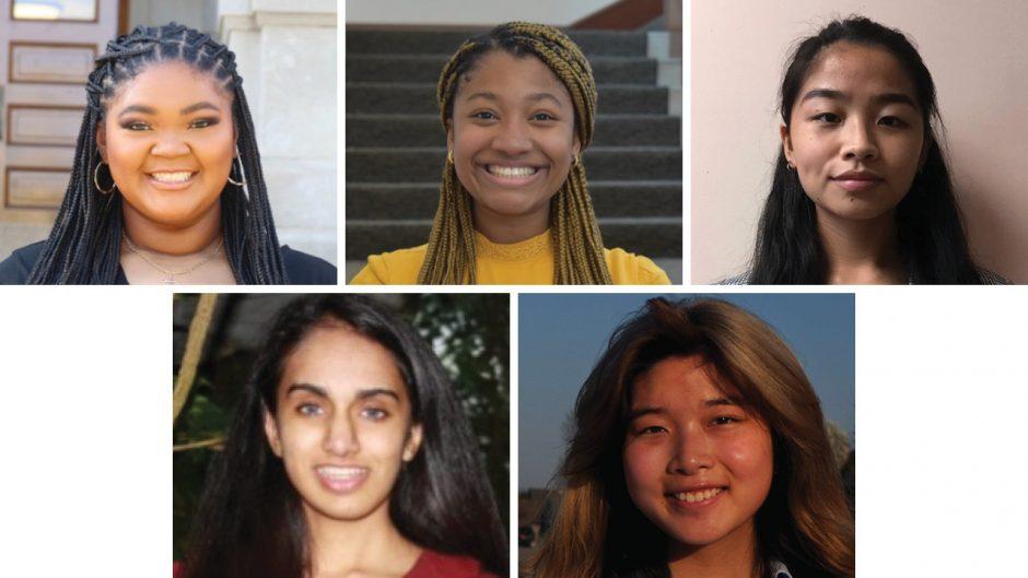 five student headshots