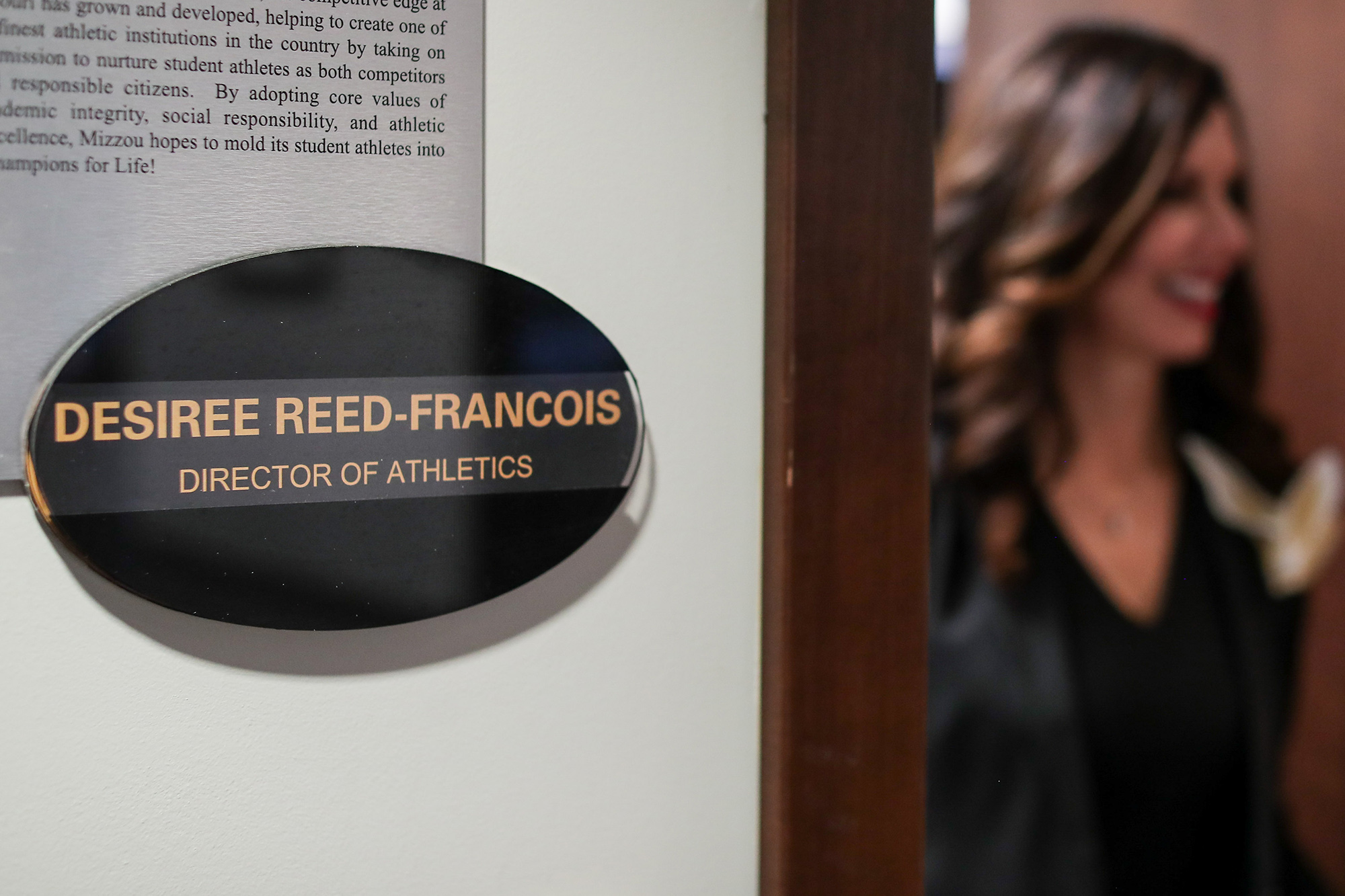 desiree reed-francois in her office
