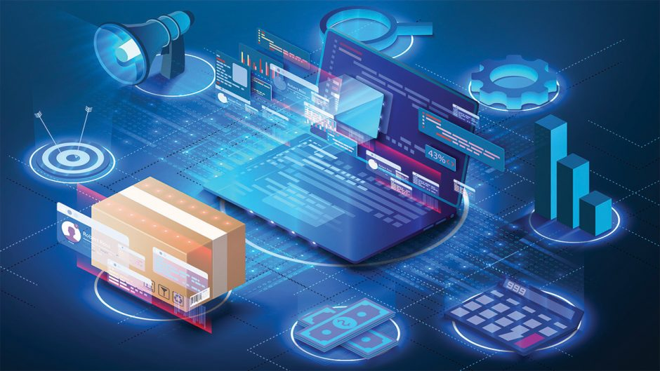 supply chain concept graphic Source: Shutterstock