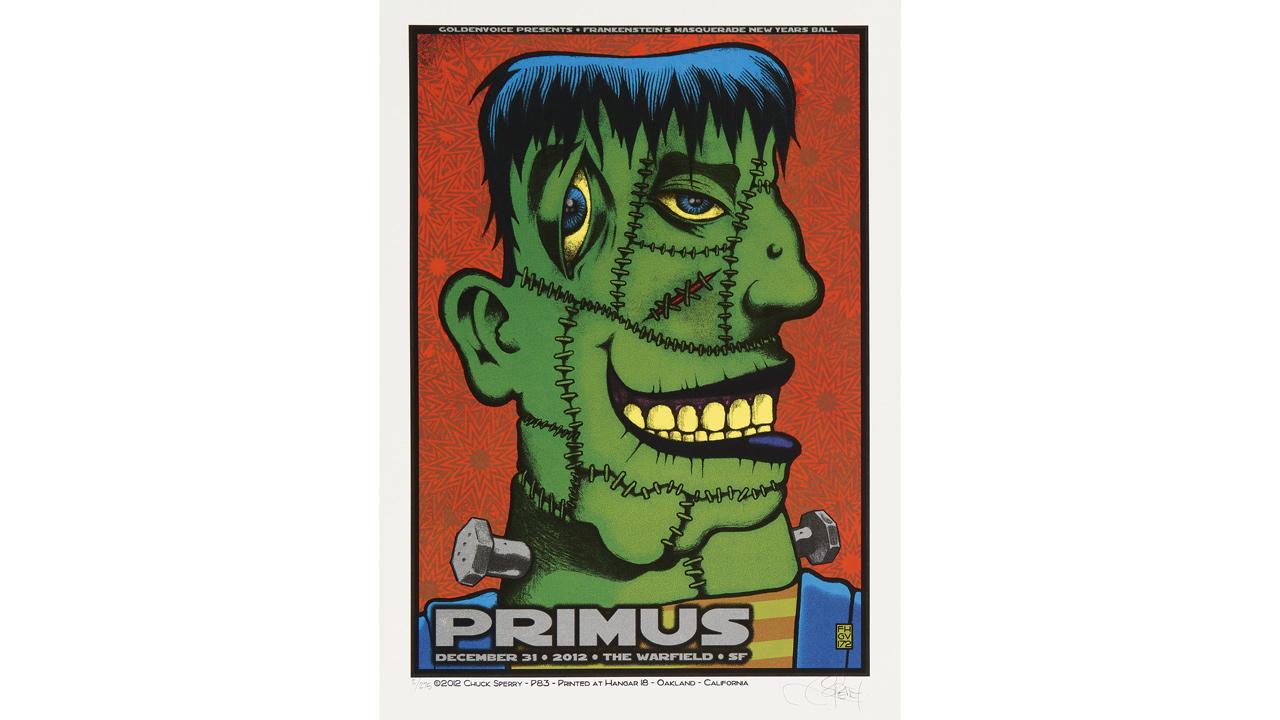 Primus poster concert