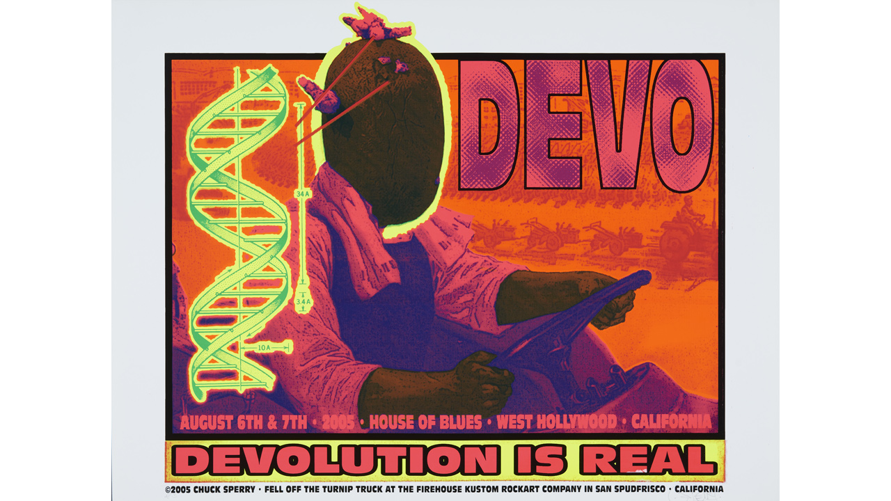 Devo concert poster