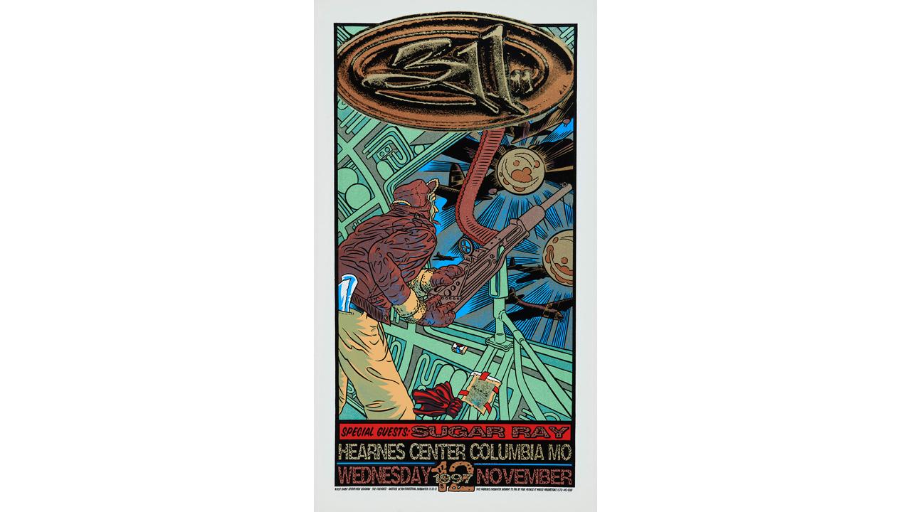 311 concert poster