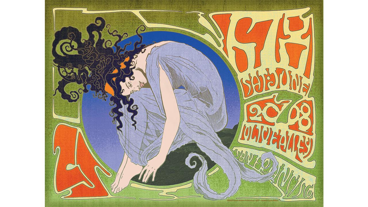 Moonalice concert poster