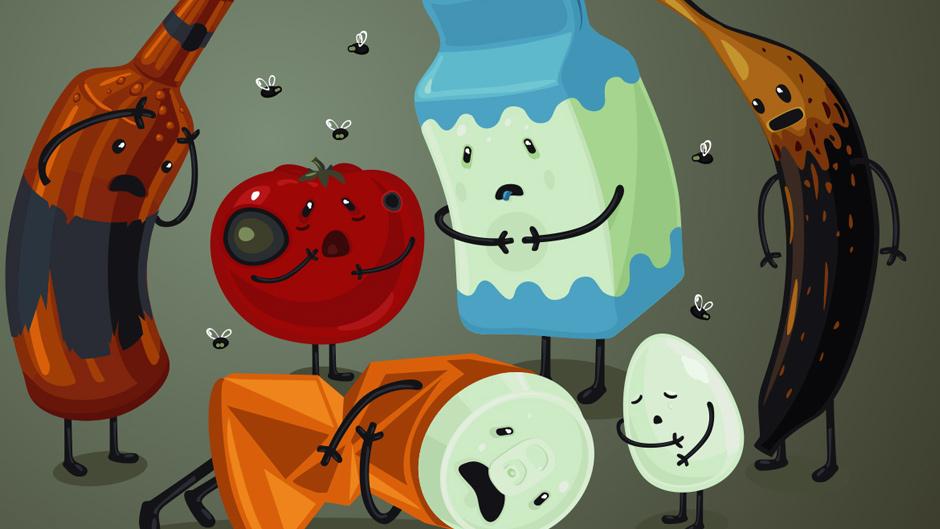 food comic image