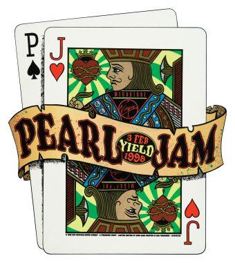 Pearl Jam screen print