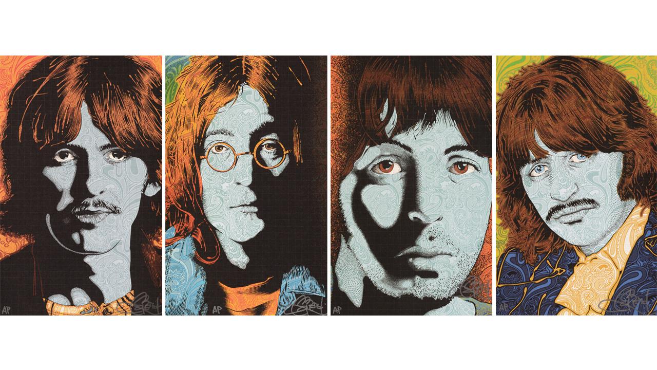 art prints of Beatles band members