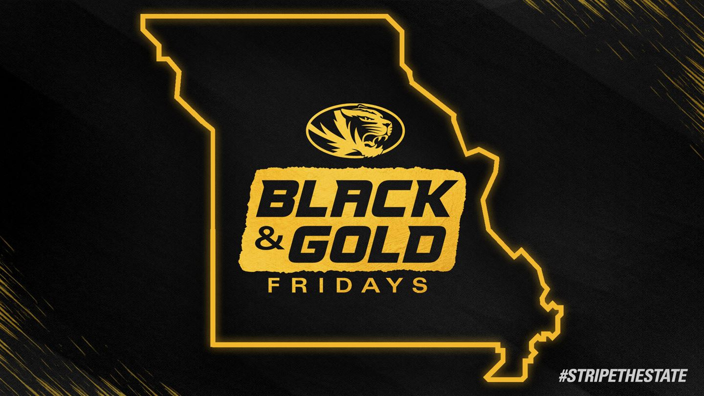 """graphic that says """"black and fold fridays"""""""