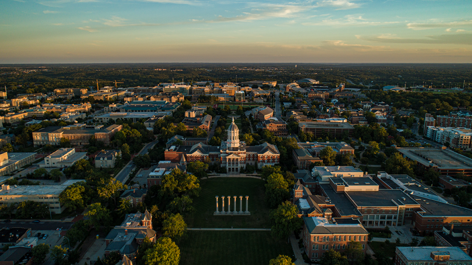 This is an image of the University of Missouri campus.