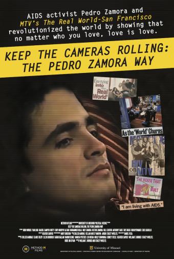 movie poster for pedro zamora film