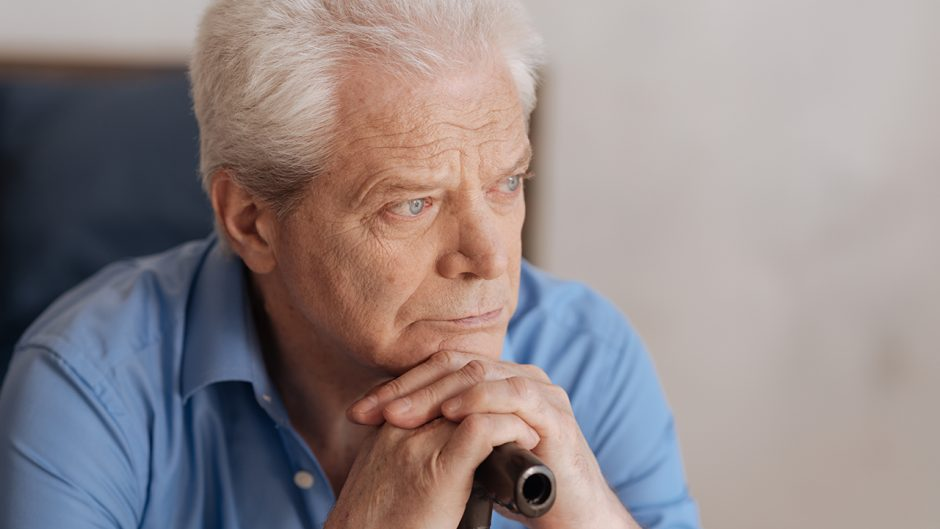 portrait of a senior man. Source: shutterstock