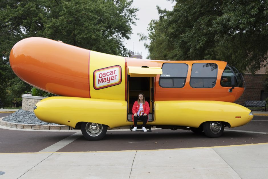 This is a picture of the Oscar Meyer Wienermobile